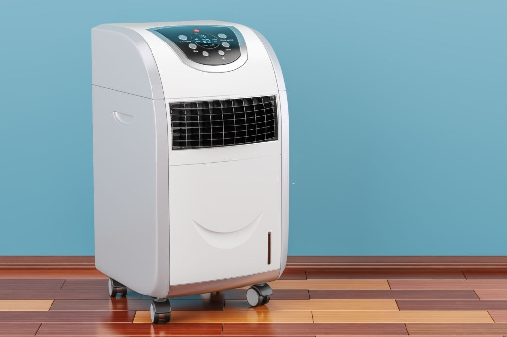 https://www.istockphoto.com/photo/portable-air-conditioner-in-room-on-the-wooden-floor-3d-rendering-gm898247548-247816863